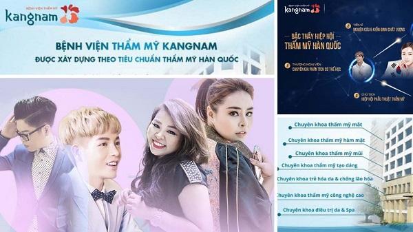 Dịch vụ nổi bật nhất ở địa chỉ thẩm mỹ viện Kangnam ở TpHCM 1